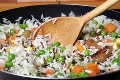 Gebraden rijst Royalty-vrije Stock Afbeeldingen