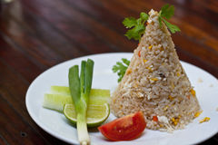 Gebraden rijst Royalty-vrije Stock Fotografie