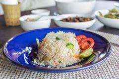 Gebraden rijst Stock Foto's