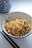 Gebraden rijst royalty-vrije stock foto