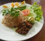 Gebraden rijst Royalty-vrije Stock Afbeelding