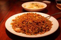 Gebraden rijst stock foto