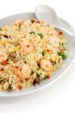 Gebraden rijst, Chinese keuken, yangzhoustijl Stock Afbeeldingen