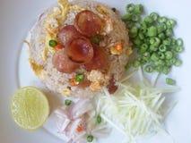 Gebraden rijst Thais Voedsel Stock Fotografie