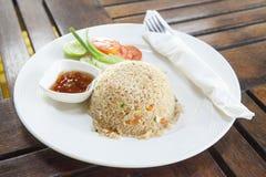 Gebraden rijst Thaise stijl Royalty-vrije Stock Foto's