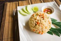 Gebraden rijst Thaise stijl Stock Afbeelding