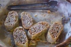 Gebraden taro, knapperig voedsel, Royalty-vrije Stock Foto