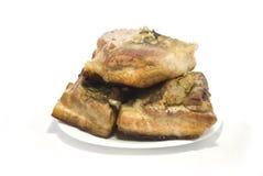 Gebraden vlees Stock Foto's