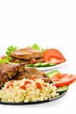 Gebraden vlees Royalty-vrije Stock Afbeeldingen