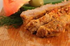 Gebraden vlees Stock Fotografie