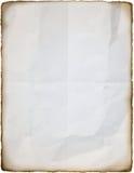 Gebrand document Royalty-vrije Stock Fotografie