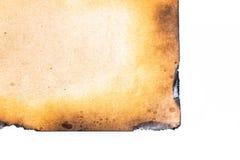Gebrand document Stock Fotografie