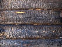 Gebrand hout Royalty-vrije Stock Foto