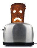 Gebrand toostbrood Royalty-vrije Stock Afbeeldingen