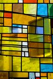 Gebrandschilderd glas 001 Royalty-vrije Stock Foto's