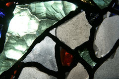 GEBRANDSCHILDERD GLAS Stock Fotografie