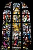 Gebrandschilderd glas Royalty-vrije Stock Foto's