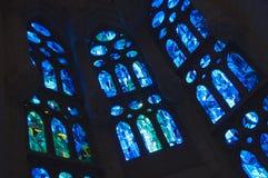 Gebrandschilderd glas Stock Foto's
