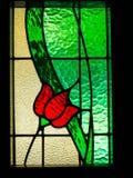 Gebrandschilderd glas Royalty-vrije Stock Fotografie