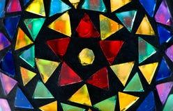 Gebrandschilderd glas Royalty-vrije Stock Afbeelding
