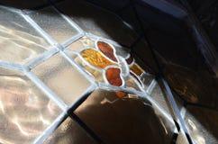 Gebrandschilderd glas in de zon Royalty-vrije Stock Afbeeldingen