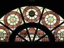 gebrandschilderd glas venster Stock Afbeelding