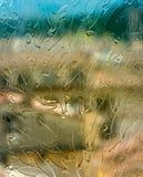 Gebrandschilderd glasachtergrond in Florence Royalty-vrije Stock Afbeelding