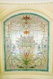 Gebrandschilderd glasdetail - Voorraadbeeld Stock Foto