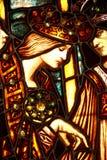 Gebrandschilderd glaskoningin Royalty-vrije Stock Foto