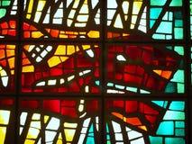Gebrandschilderd glaskunst, het Museum van Vatikaan Stock Fotografie