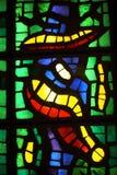 Gebrandschilderd glaskunst, het Museum van Vatikaan Stock Afbeelding