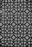 Gebrandschilderd glastextuur Geometrisch ontwerp op rode achtergrond Abstract Naadloos Patroon Decoratie of decor en ontwerp Royalty-vrije Stock Afbeeldingen