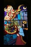 Gebrandschilderd glasvenster, Disneyland in Parijs Royalty-vrije Stock Afbeelding
