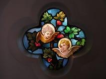 Gebrandschilderd glasvenster in Georgetown van Washington DC royalty-vrije stock afbeelding