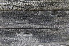 Gebranntes Holz Stockbild