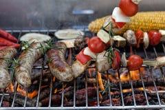 Gebranntes Lebensmittel Stockfotografie