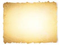 Gebranntes Papier der Weinlese grunge Stockbild