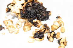 Gebranntes Popcorn Lizenzfreie Stockfotos