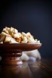 Gebratene Croutons des selbst gemachten Brotes Lizenzfreie Stockbilder
