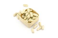Gebratene Erdnüsse Lizenzfreie Stockbilder