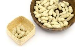 Gebratene Erdnüsse Lizenzfreies Stockbild