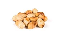 Gebratene Erdnüsse lizenzfreie stockfotografie