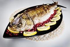 Gebratene Fische Stockbilder