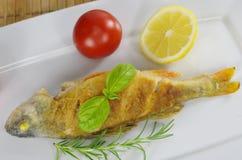 Gebratene Fische Stockfotos