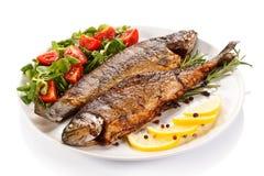 Gebratene Fische Lizenzfreies Stockbild