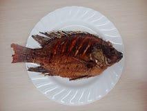 Gebratene Fische lizenzfreies stockfoto
