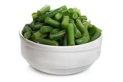 Gebratene grüne Bohnen Lizenzfreies Stockfoto