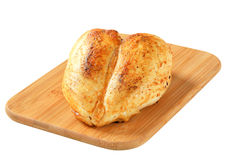 Gebratene Hühnerbrust Lizenzfreies Stockfoto