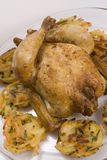 Gebratene Huhn- und Gemüsenester Lizenzfreie Stockfotografie