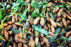 Gebratene Insekten Stockfoto